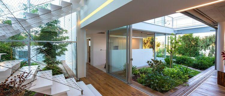 วิธีรวม สวนในการ ออกแบบบ้าน