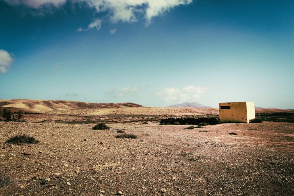 บ้านในทะเลทราย