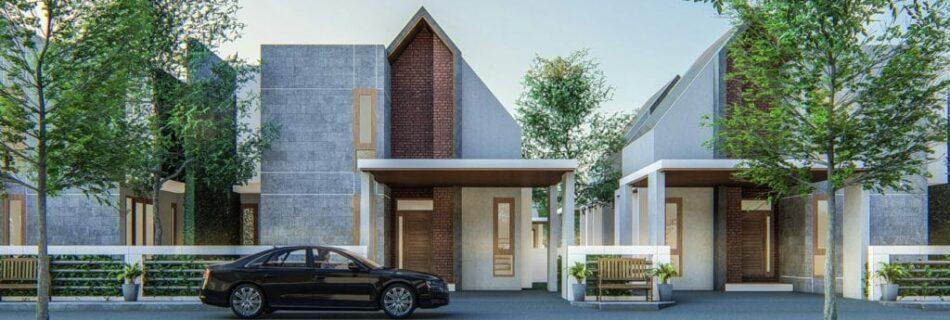 Semi-detached house plans