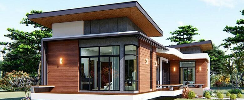 One-storey house design guide with floor plan