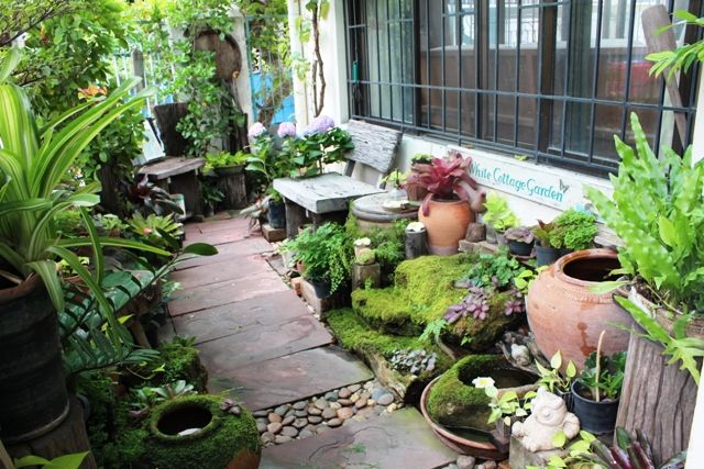 วิธีจัดสวนหน้าบ้านแบบประหยัด ในงบจำกัด