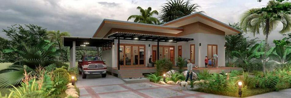 modern garden house ideas