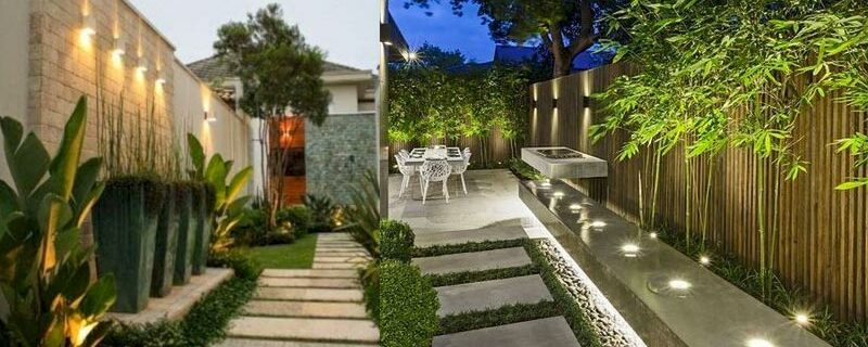 Guidelines for landscaping next to the house, low budget