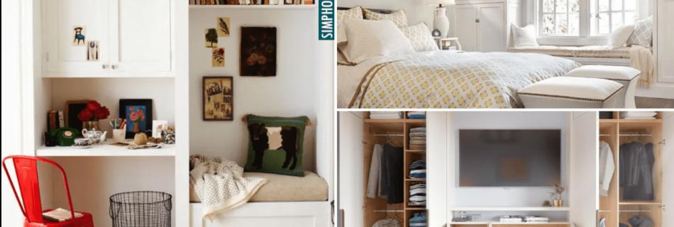 Bedroom build-in tips