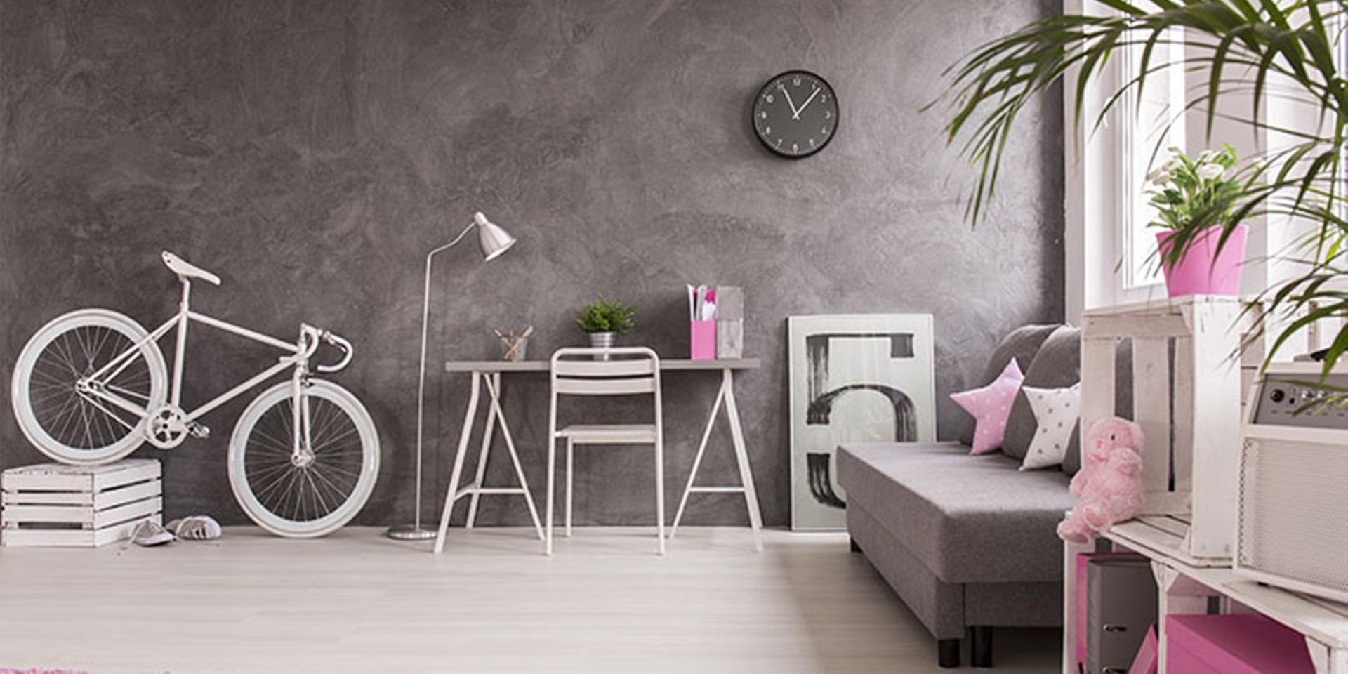 Modern house wall guide